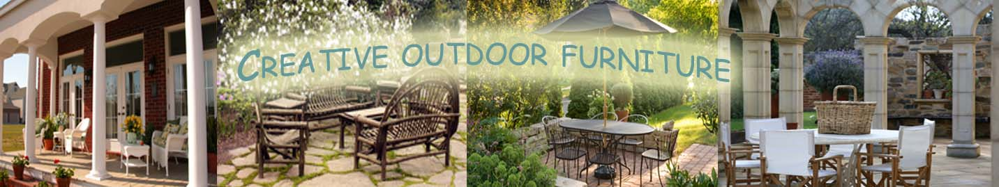 CreativeOutdoorFurniture: Outdoor Patio Decor, Patio Furniture, Patio Cushions, Umbrellas, Patio Ideas